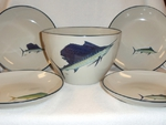CS10276.OFFA - Cabin Series 5pc Offshore Fish Pasta/Salad Set CS10276.OFFA