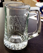 15oz. Sports Glass Stein with Custom Logo GW10205E.SDL