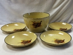 LC10278.PHFC - Lodge Collection 5pc Pheasant Pasta/Salad Set LC10278.PHFC