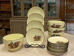 LC10278.SWBL - Lodge Collection 5pc Southwest Buckskin Loping Pasta/Salad Set LC10278.SWBL