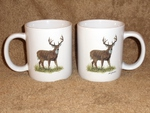 SM10208.WTDB - Big Daddy 19oz. Whitetail Deer Mug (set of 2) SM10208.WTDB