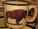 TM10148.BUF - 15oz Almond Trail Mug - Buffalo TM10148.BUF