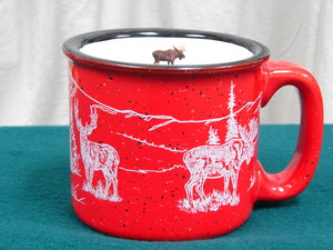 TM10158.BGMW - 15oz Red Big Game Animal Wrap Trail Mug TM10158.BGMW