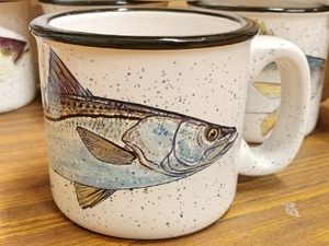 TM10178.SNK - 15oz White Trail Mug - Snook TM10178.SNK