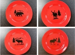WS10312DP - Crimson Red Dinner Plates Only WS10312DP