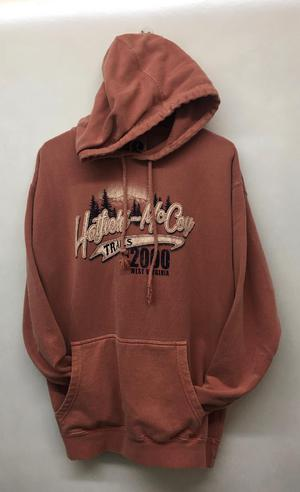 Heavey Weight Hoodie Copper 232