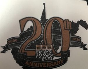 20TH Anniversary Decal 2020