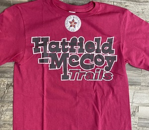 Hot Pink with gray T-Shirt 122