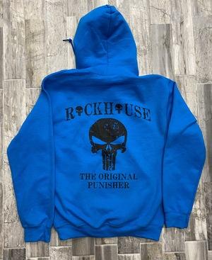 Punisher Hoodie Blue 237