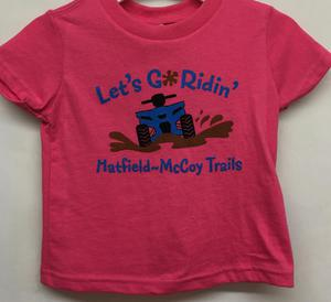 Let's Go Ridin' Pink T-Shirt 323