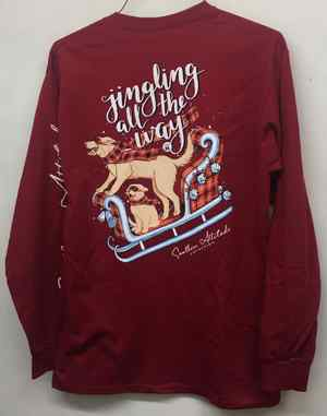 Jingling All the Way - long sleeve C-100