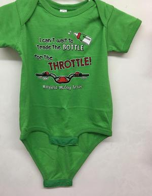 Onesie Bottle/Throttle Green 319
