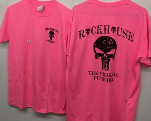 Punisher short sleeve pink 127