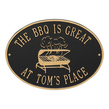 Grill Plaque #5811