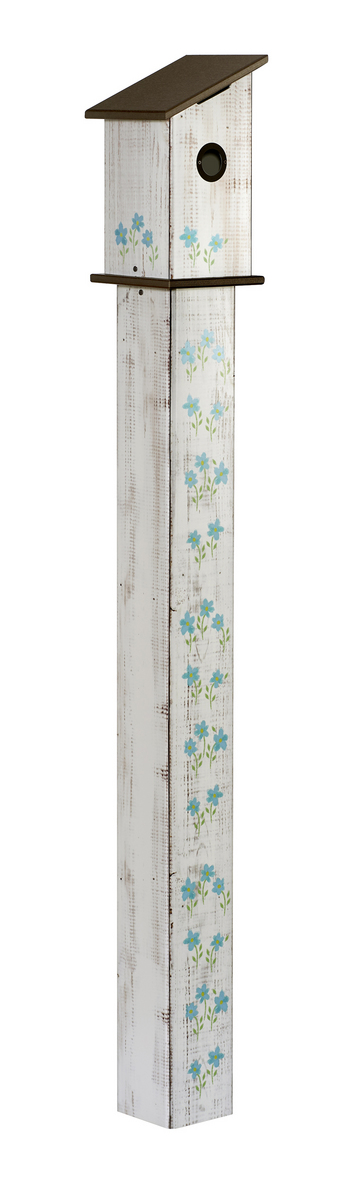 Studio M 5' Cottage Garden Birdhouse Art Pole 6017
