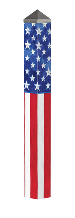 "Studio M 40"" Stars and Stripes Forever Art Pole 6071"