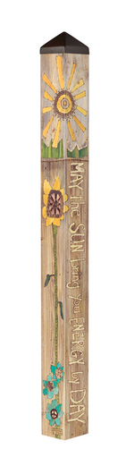 "Studio M 60"" Sun and Moon Art Pole 6021"