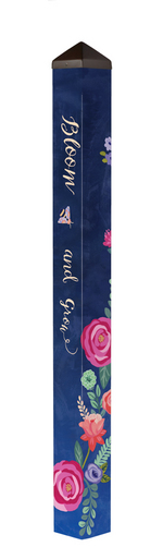 "Studio M 60"" Boho Flowers Art Pole 6023"