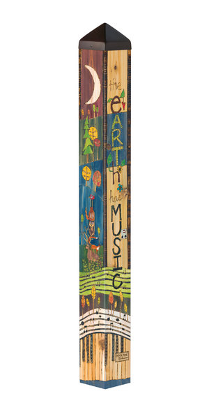 "Studio M 40"" Song of the Earth Art Pole 7005"