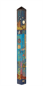 "Studio M 60"" Peaceful Earth Art Pole 7001"