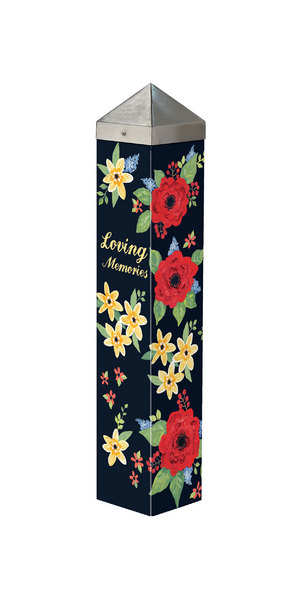 """Studio M - Bereavement - 20"""" With Us Forever Art Pole 7077"""