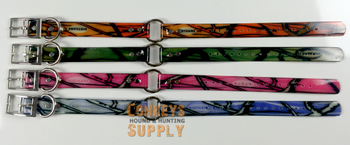 "18"" Dayglo Collars with D & O Rings- Camo #DO_Camo"