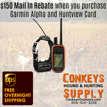 UKC Forums - $150 Rebate on purchase of ALPHA/Astro with Huntview Card