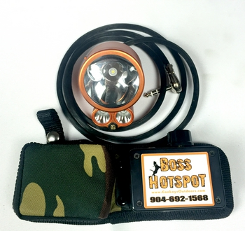 Boss HotSpot 3D SE Belt Light Package #BHSBP