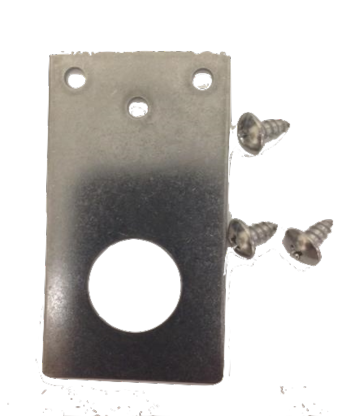 Tram Stainless Steel Flat  Mounting Bracket #1255-F