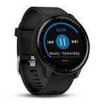 vívoactive® 3 Music, Black with Stainless Hardware Vivoactive-3-Music-Black-Stainlesss-Hardware