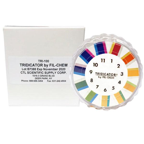 Tridicator pH 1-11