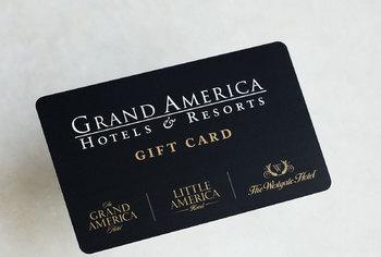 Grand America Gift Card #012012