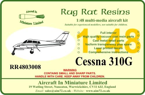 Cessna 310G #RR4803008