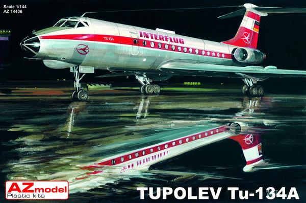 Tupolev Tu-134A, Interflug & CSA #AZM14406
