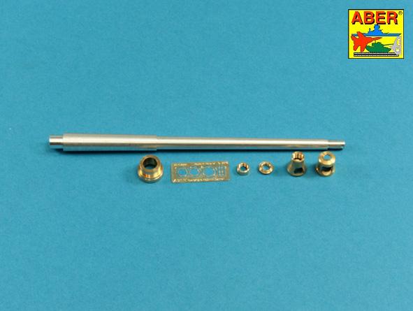 "10,5cm KwK L/70 barrel with double baffle muzzle brake for German Pz.Kpfw.VII ""Löwe"