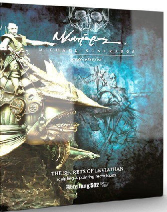 Secrets of Leviathan Sculpting & Painting Techniques Book - Pre-Order Item #ABT715
