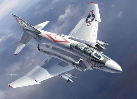 F-4J Diamondbacks USN Fighter #ACY12323