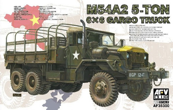 US M54A2 5-Ton 6x6 Cargo Truck (New Tool) #AFV35300