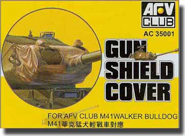 M41 Gun Shield Cover #AFVAC35001