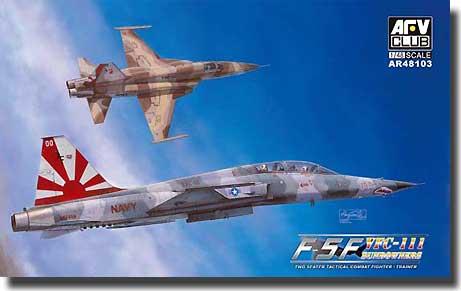 F-5F Tiger II (Shark Nose) VFC-111 Sundowners #AFVAR48103
