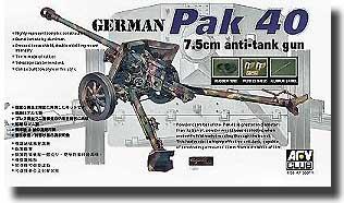 German PaK 40 7.5cm Gun #AFV35071