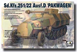 Sd.Kfz.251/22 Ausf.D 'Pakwagen' Late Model #AFV35083