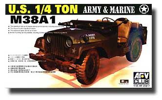 USA Army M38A1C 1/4t 4x4 Jeep #AFV35S17