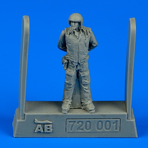 Soviet Air Force Fighter Pilot (Standing, arms behind) #ABN720001
