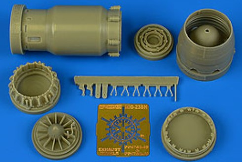 MiG-23BN Early Exhaust Nozzle Opened For TSM - Pre-Order Item #AHM4758