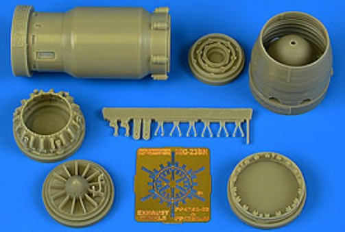 MiG-23BN Late Exhaust Nozzle Opened For TSM - Pre-Order Item #AHM4759