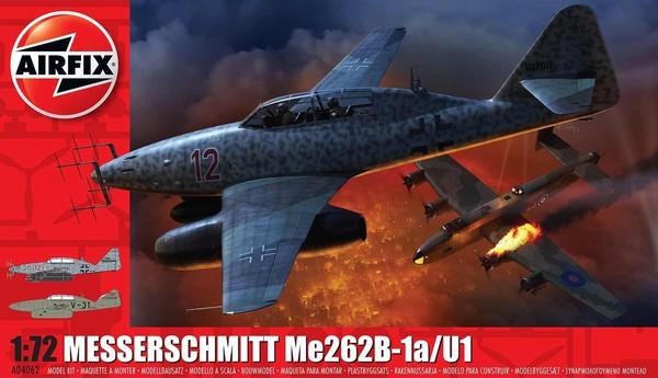 Messerschmitt Me262B1a Fighter #ARX4062