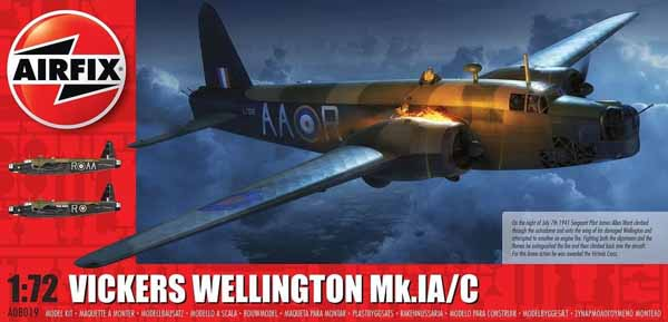 Vickers Wellington Mk IC Bomber (New Tool) #ARX8019