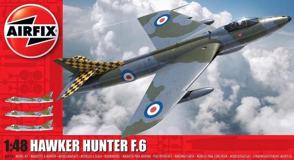 Hawker Hunter F6 Fighter (New Tool) #ARX9185