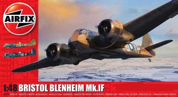 Bristol Blenheim Mk IF Bomber (New Tool) #ARX9186